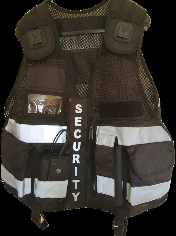 Tactical Multi Vest With Camera Pocket Black