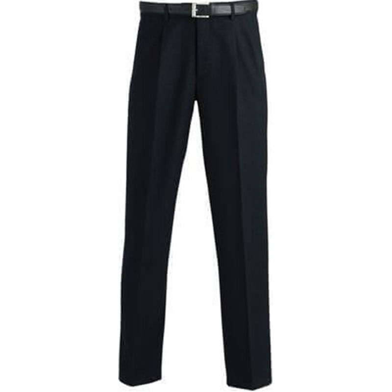 Trouser  Menand39s Permanent Press  Clearance Black Large Sizes