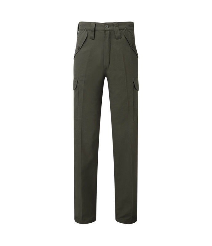 Trousers   Security Cargo with Large Belt loops 63mm Olive Green