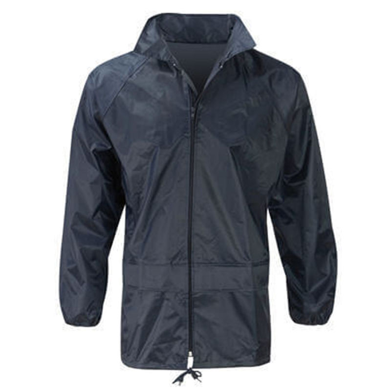 Waterproof Rain Jacket Navy