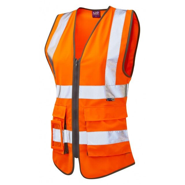 Women+39s Superior Waistcoat Orange
