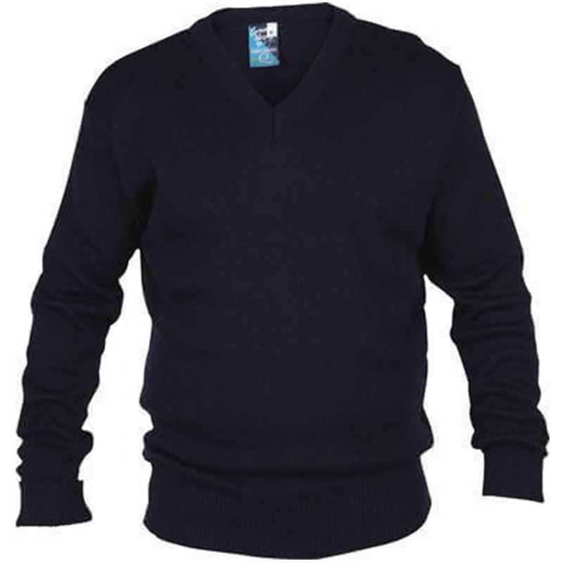 Wool Mix Pullover Black