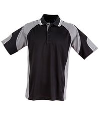 Alliance Polo Black/Ash