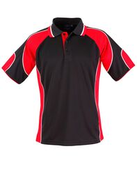 Alliance Polo Black/Red