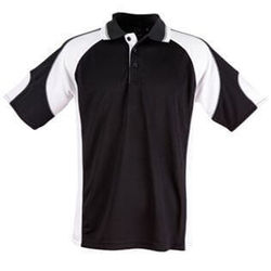 Alliance Polo Black/White