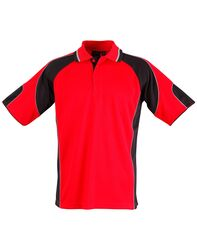 Alliance Polo Red/Black