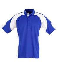 Alliance Polo Royal/White