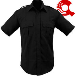 American Styling Epaulette Short Sleeve Shirt