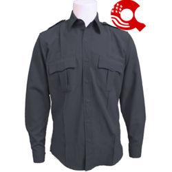 American Styling Uniform Long Sleeve Shirt Charcoal