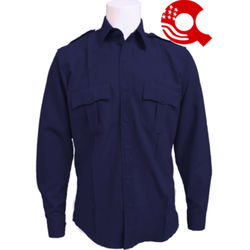 American Styling Uniform Long Sleeve Shirt Navy