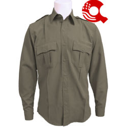 American Styling Uniform Long Sleeve Shirt Tan