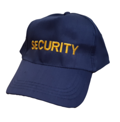 Baseball Cap Poly/Cotton - Security
