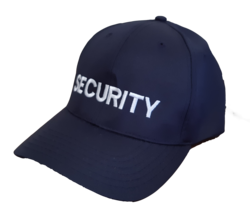 Baseball Cap SECURITY Navy