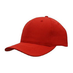 Baseball Cap  Adjustable Size Red