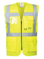 Berlin Executive Vest Yellow
