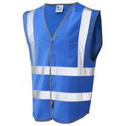 Blue Hi VIs Security Vest