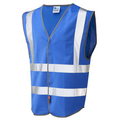 Coloured Hi Vis Vest Blue