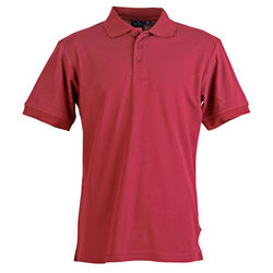 Connection Polo Men+39s Maroon