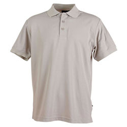 Connection Polo Men+39s Silver Grey