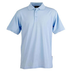 Connection Polo Men+39s Sky Blue