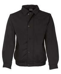 Contrast Jacket Black/Black