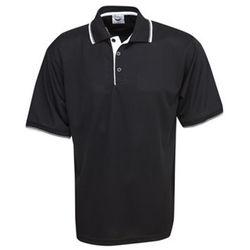 Cooldry Micro Mesh Polo Black/White/Silver