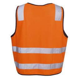 DayNight Vests Orange rear from Murray Uniforms