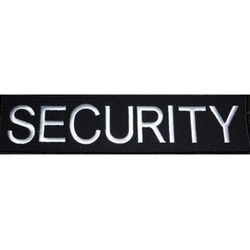 Embroidered Security Badge Large
