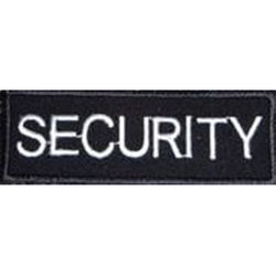 Embroidered Security Badge Small