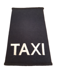 Epaulette  Embroidered Taxi