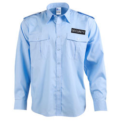 Epaulettes Superior Unisex Shirt - Long Sleeve with Security to Front and Rear