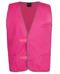 COLOURED PLAIN TRICOT VEST 100% POLYESTER FOR DURABILITY