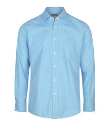 GINGHAM LONG SLEEVE SHIRT Teal