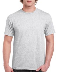 Gildan Men+39s Classic Short Sleeve T Shirt Ash Grey