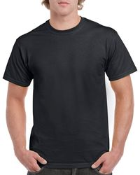 Gildan Men+39s Classic Short Sleeve T Shirt Black