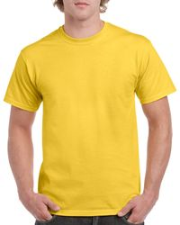 Gildan Men+39s Classic Short Sleeve T Shirt Daisy