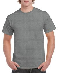 Gildan Men+39s Classic Short Sleeve T Shirt Graphite Heather