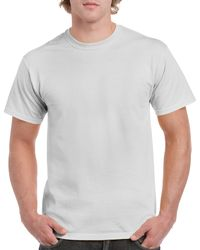 Gildan Men+39s Classic Short Sleeve T Shirt Ice Grey