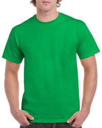 Gildan Men+39s Classic Short Sleeve T Shirt Irish Green
