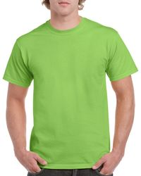 Gildan Men+39s Classic Short Sleeve T Shirt Lime