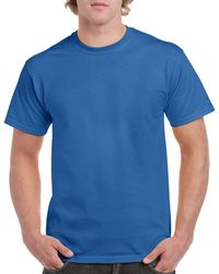 Gildan Men+39s Classic Short Sleeve T Shirt Royal