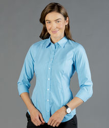 Gingham 34 Sleeve Shirt