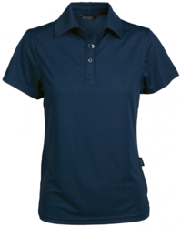 Glacier Ladies SS Polo NAVY
