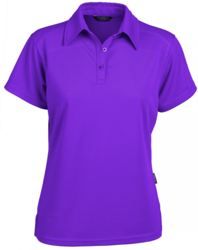 Glacier Ladies SS Polo Purple