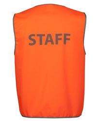HI VIS SAFETY VEST SECURITYSTAFFVISITOR