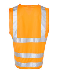 HiVis Safety Vest with ID Pocket and 3M Tape