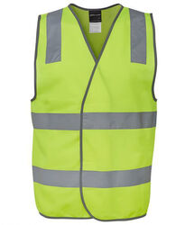 Hi Vis D+N Safety Vest Lime