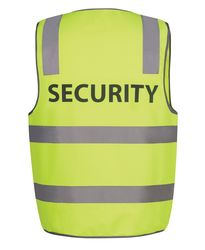 Hi Vis D+N Safety Vest Security