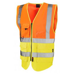 Hi Vis Superior Vest Two Tone Orange/Yellow