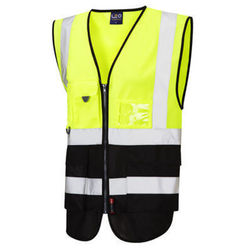 Hi Vis Superior Vest Two Tone Yellow/Black